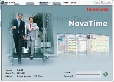 Personalzeiterfassung Novatime